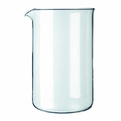 Bodum 1512-10 - Repuesto de cristal para cafetera, 12 tazas, transparente