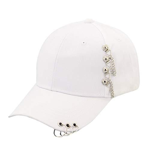 WQIANGHZI Hat Kopfbedeckung Hip Hop Baseballmütze Schatten Freizeit Hut Mütze Geeignet für Mode Männer und Frauen -