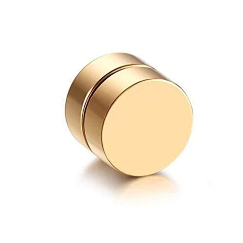 hengduolailin Männer Magnet Magnetische Ohrstecker, Vintage Modische Nicht Piercing Ohrclips Gefälschte Ohrringe für Freund Liebhaber
