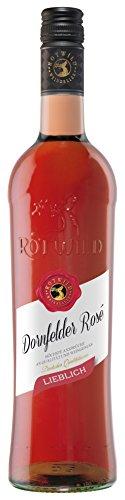 Rotwild Dornfelder Rosé lieblich, (1 x 0,75 l)