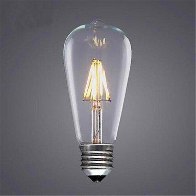 CHUCHEN 8W E26/E27 Lampadine LED a incandescenza ST64 8 SMD 5730 580 lm Bianco caldo / Luce fredda / Giallo Decorativo V 1 pezzo , 220-240v