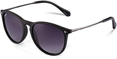 Gafas de Sol Polarizadas, Carfia UV400 Gafas de Sol Polarizadas Metal de Moda para Conducción Pesca Esquiar Golf Aire Libre para Mujer y Hombre Unisex