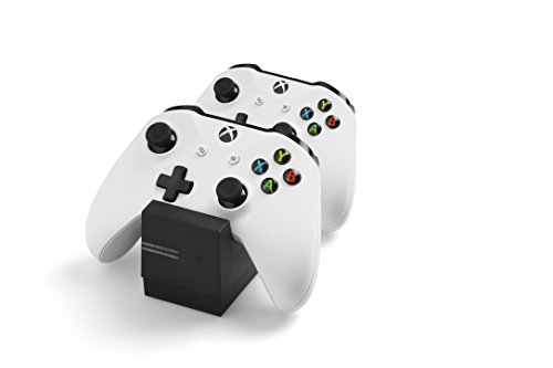 snakebyte Twin Charge X - Ladeschale für XBOX One Controller inkl. 2-fach Akku Pack mit je 800mAh
