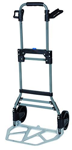 Einhell Sackkarre BT-TK 100 (max. Tragkraft 100 kg, leicht faltbar, verstellbare Handgriffe, 102 cm Produkthöhe)