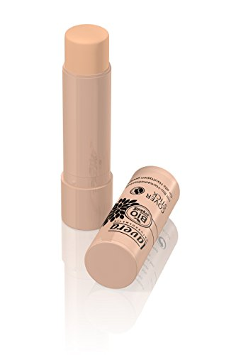 lavera Cover Stick Abdeckstift gegen Hautunebenheiten ∙ Farbe Honey Hautfarbe ∙ ideale Deckkraft ∙ Natural & innovative Make up ✔ vegan ✔ Bio Pflanzenwirkstoffe ✔ Naturkosmetik ✔ Teint Kosmetik 1er Pack (1 x 5 g)