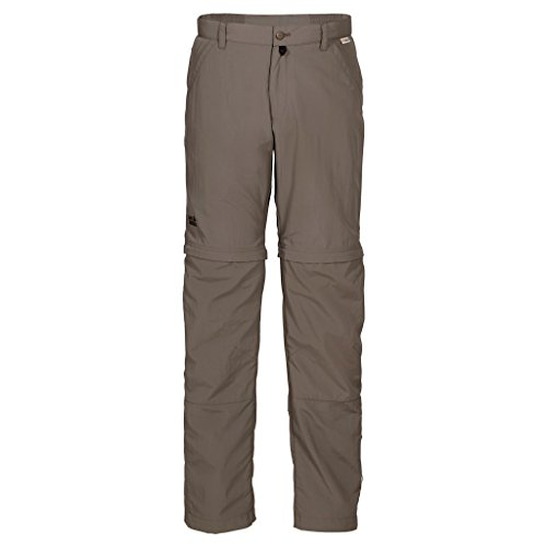 Jack Wolfskin Herren Hose Canyon Zip Off Pants Men Siltstone