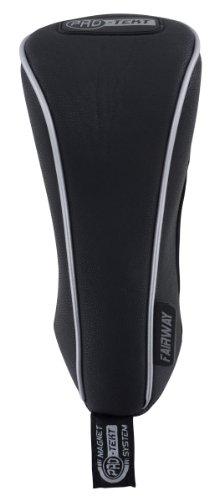 ProTekt Golfschlägerhaube Fairway-Holz schwarz schwarz