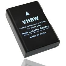 Batería LI-Ion 950mAh (3,7V) compatible Nikon CoolPix D3100, D3200, D5100, D5200, P7000, P7100 y donde se use el modelo EN-EL14 con InfoChip
