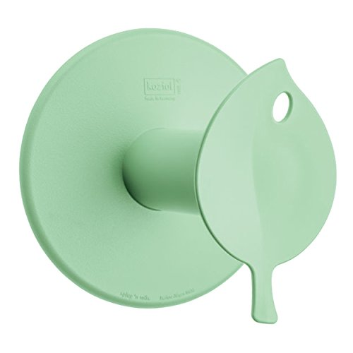 Preisvergleich Produktbild koziol WC-Rollenhalter Sense,  Bio-Kunststoff,  solid mint,  13 x 12, 7 x 12, 7 cm