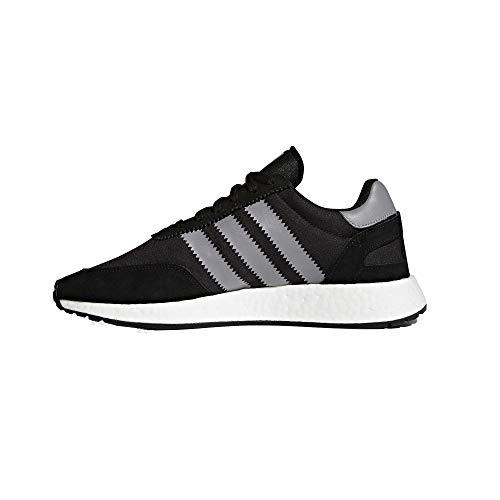 adidas Herren Iniki Runner Hallenschuhe, Schwarz Black/White, 43 1/3 EU