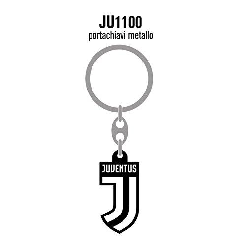 Giemme Schlüsselanhänger Juventus aus emailliertem Metall