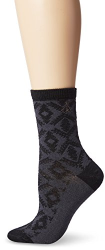 Pendleton Damen Diamant River Fußkettchen Socken, Damen, schwarz -