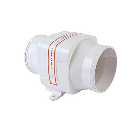 Seaflo 102 mm Inline soplador ventilador