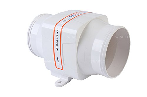 Seaflo–102mm Inline soplador ventilador