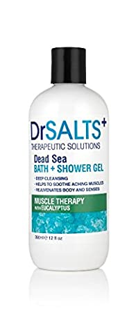 Dr Salts+ Muscle Therapy Bath and Shower Gel, 350 ml
