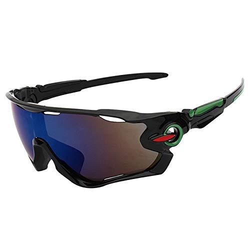 ZKAMUYLC SonnenbrilleUV Schutz Outdoor Radfahren Sonnenbrillen Backenbrecher Sport Angeln MTB Fahrrad Wandern Radfahren Brillen Winddicht Radfahren Eyewear