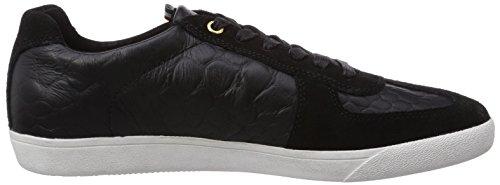 Herren Pantofola Baixo Sneakers D'oro Carrara Schwarz preto qxIUZOw