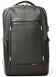"Kingsons Charged Series 15.6"" Smart backpack(Black) (With USB Port) K"