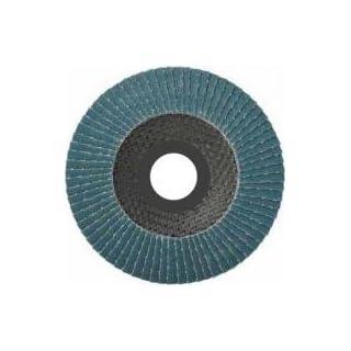 10 Stück Fächerscheiben 115 x 22,23 mm Korn 40 für Holz und Metall, Fächerscheibe Schleifmopteller