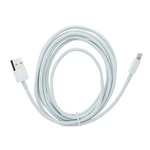 ALPEXE 67618 USB Cble - Apple Iphone 5/5S/5Se/6/6 Plus/Ipad Mini - 2 Meters Blanc