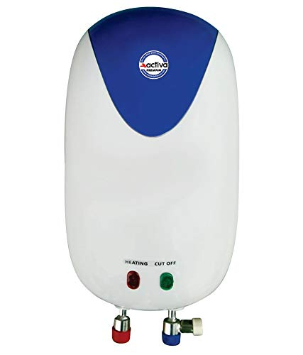 ACTIVA 3 LTR Instant 3 KVA Special Anti Rust Coated Tank Geyser with Full ABS Body Premium (White)