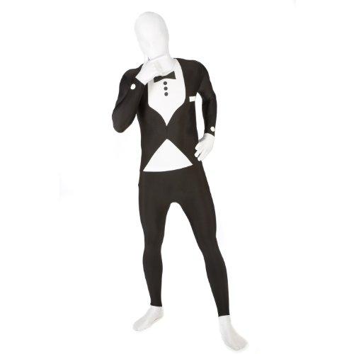 Helloween Party Klassischer Anzug Morphsuit Ganzkörperanzug, Größe:XL