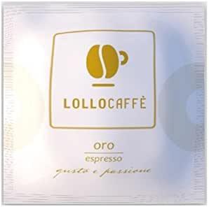 LOLLO CAFFE' CIALDE IN CARTA ESE 44MM MISCELA ORO MOKONA/TAZZONA COMPATIBILI (150)