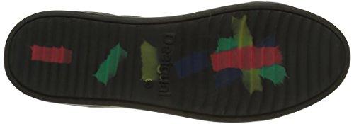 Desigual Sheep Reggae, Sneakers Hautes Femme Noir (Negro 2000)