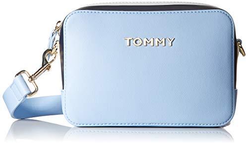 Tommy Hilfiger Damen Th Corporate Crossover Business Tasche, Blau (Cerulean), 1x1x1 cm