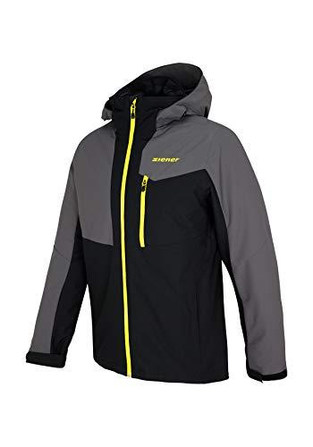 Ziener Herren Paron Man (Jacket ski) Jacke, Black, 50