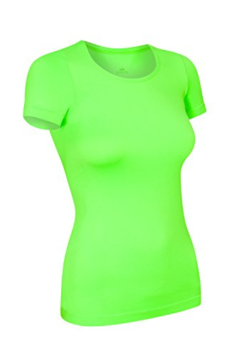 rt kurzarm, Größe XL, neon grün (Neon Shirt)