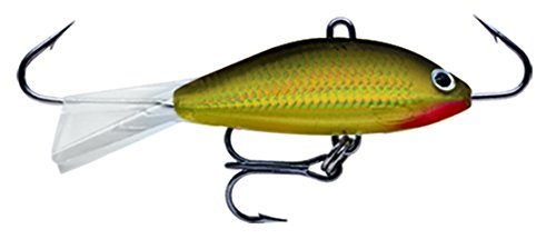 Rapala Jigs Shad Rap 05 Angeln Lure, 2, Gold (Jigging Ice Rapala Fishing)