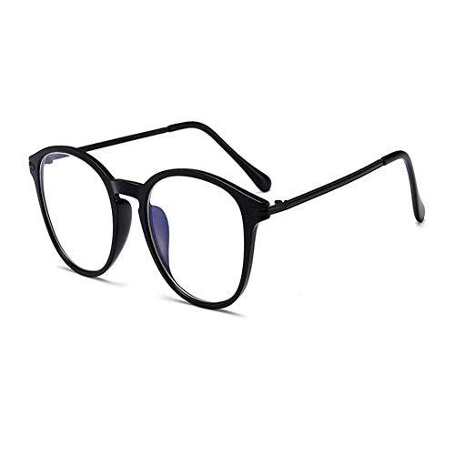 Meijunter Blaulichtfilter Rund Lesebrille - Anti blaulicht Computer Brille Rahmen Avantgarde Anti-Müdigkeit Lesen 1.0 1.5 2.0 2.5 3.0 3.5 4.0 für Herren Damen