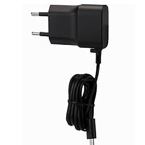Original Nokia cavo di ricarica in nero per Lumia 630Dual SIM Alimentatore di rete caricabatterie cavo di ricarica cavo di ricarica Travel Charger MicroUSB NOKLB4