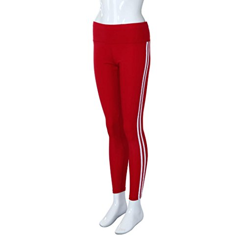 Sixcup - Leggings sportivi -  donna Red