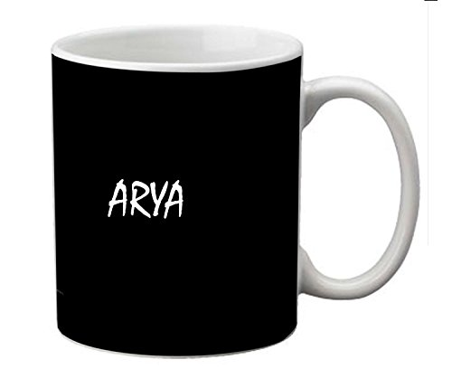 meSleep Guitar Personalized Ceramic Mug for Arya  available at amazon for Rs.249