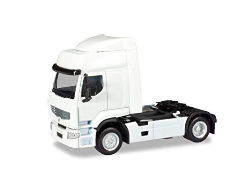 Herpa 013635 - Juego de Tren para Coche Renault Premium, Color Blanco