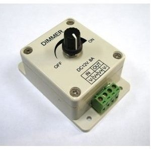 Sodial (R) - PWM Dimmer controlador para luces de LED, lazo o...