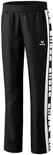erima Damen Classic 5-C Sports-/Präsentationsjacke, schwarz/weiß, 40