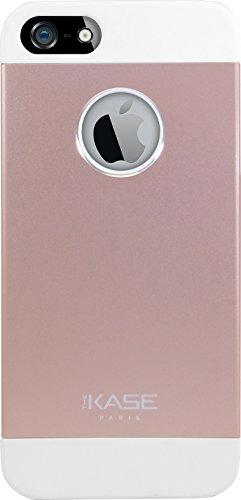 Coque aluminium ultra slim pour Apple iPhone 5/5s/SE, Or rose Or/Rose