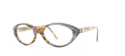 Emmanuelle Khanh Damen Brillengestell Blau Blau/Braun