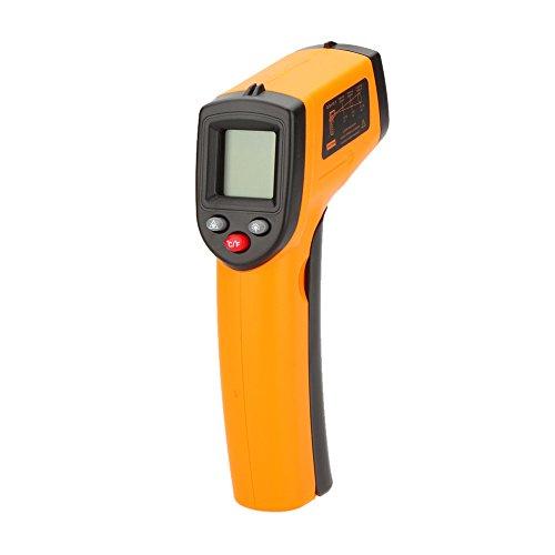 Preisvergleich Produktbild KKmoon GM320 Berührungslose Thermometer 12:1 Digitale Infrarot IR Thermometer Laser Temperatur Gun Tester Bereich -50 ~ 330 (-58~626°F) mit LCD Hintergrundbeleuchtung