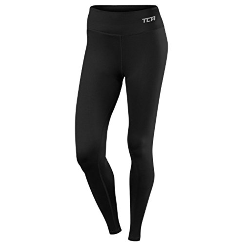 TCA Pro Performance - Damen Laufhose / Leggings - Black/Black - M