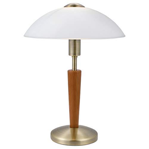 EGLO SOLO 1 lámpara de mesa Marrón E14 60 W - Lámparas de mesa ...