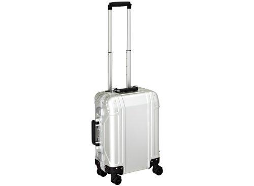 zero-halliburton-zeroller-geo-maleta-de-cabina-a-4-ruedas-55-cm-silver-coloured