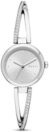 DKNY Crosswalk Women's Silver Dial Stainless Steel Analog Watch - NY