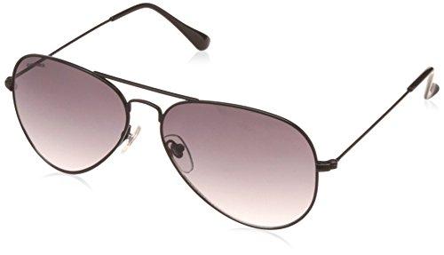 Fastrack Gradient Aviator Men\'s Sunglasses - (M165BK6 57 Black Color)