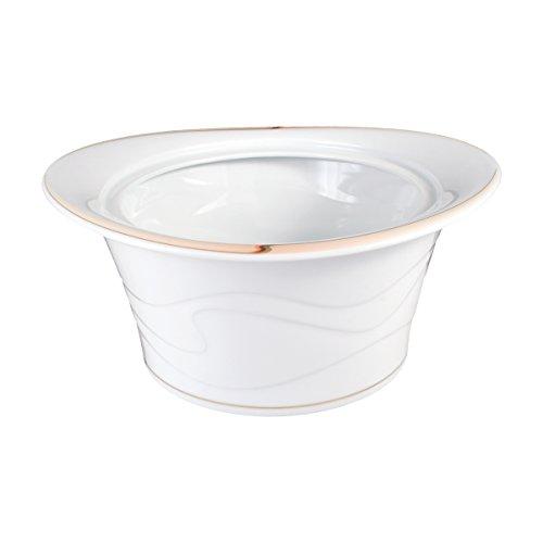 Seltmann Weiden Allegro Unterteil zu Terrine, Oval, Porzellan, Weiß, 2.6 L, 1044451