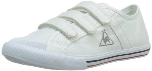 Le coq Sportif Saint Malo Ps Strap, Baskets Mode Unisex Kinder Weiß (White)