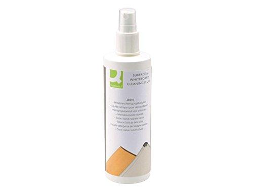 Doppelpack Q Connect Whiteboard-Reinigungsflüssigkeit zur Grundreinigung von Schreib- und Planungstafeln 2x 250ml